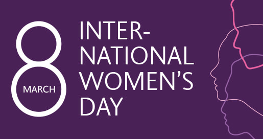 International Women's Day 8 March
