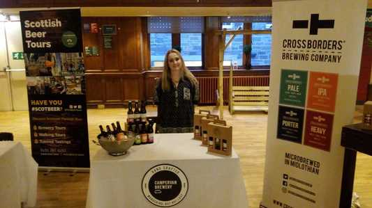 Campervan Brewery, Cross Borders Brewery and ScotBeer Tours at Beer Fair